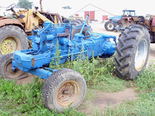 Ford 600 Tractor Serial Number : Ford tractor serial number location