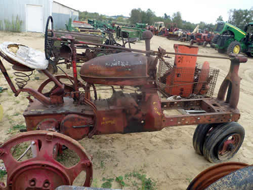 Used Tractor Parts Salvage Yards : Salvaged international m tractor for used parts eq