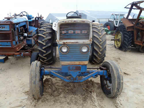 Ford 6000 Tractor Parts : Used ford tractor parts