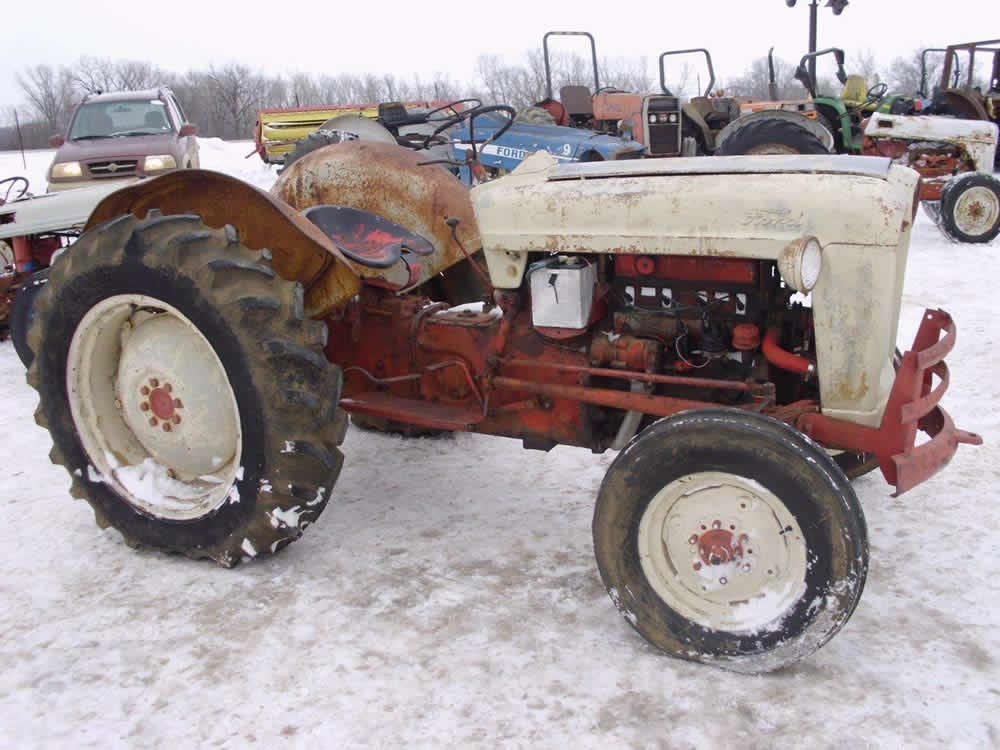 Used Tractor Parts : Oliver tractor serial number location