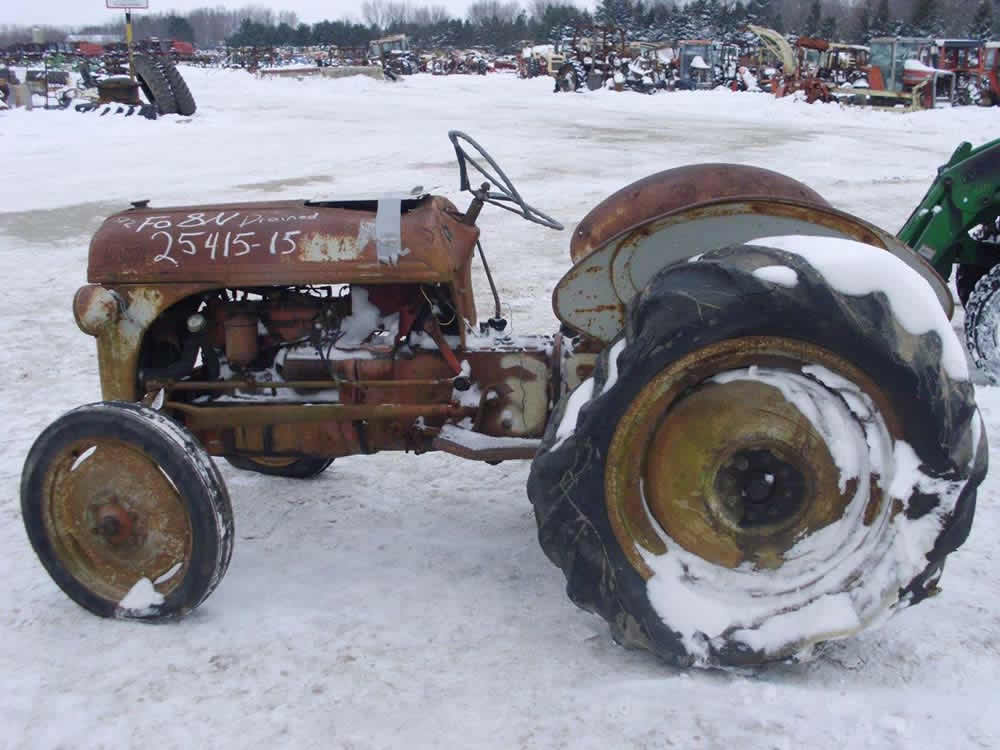 All Tractor Parts : Used ford n tractor parts eq all states ag