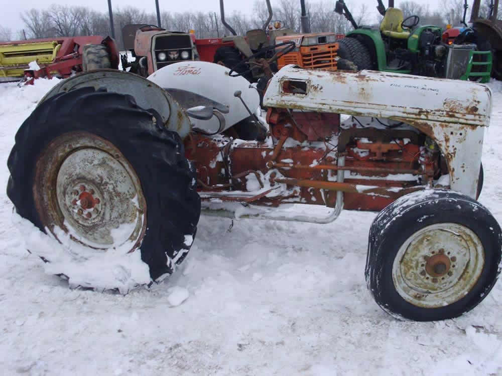 salvaged ford 8n tractor for used parts eq 25416 all. Cars Review. Best American Auto & Cars Review