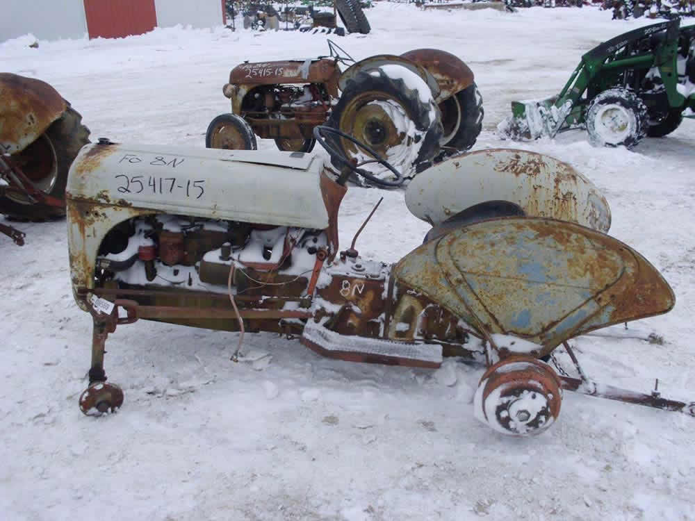 salvaged ford 8n tractor for used parts eq 25417 all. Cars Review. Best American Auto & Cars Review