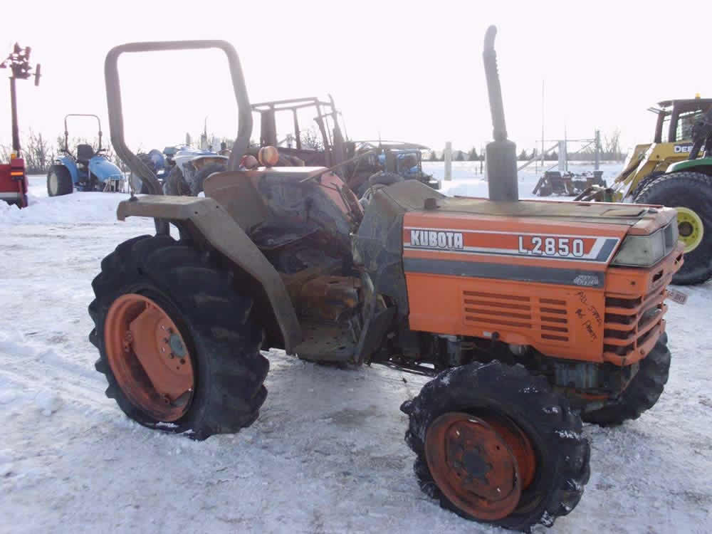 Kubota Tractor Salvage : Power farming home farm machinery used tractors for sale