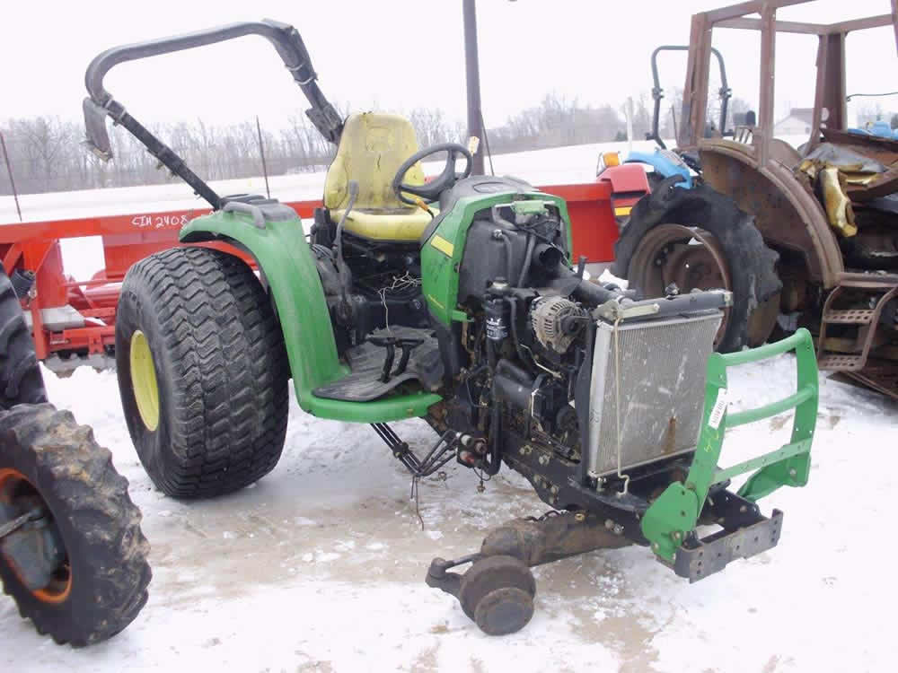 Used Tractor Parts Salvage Yards : Used john deere tractor parts eq all states