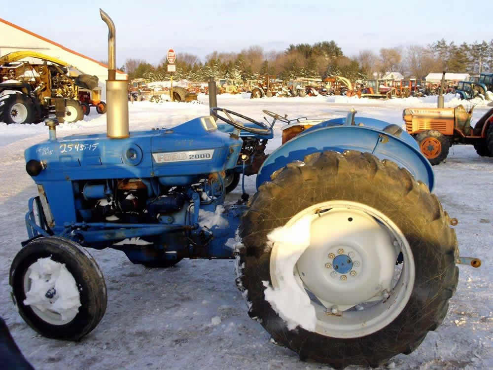 All Tractor Parts : Used ford tractor parts eq all states ag